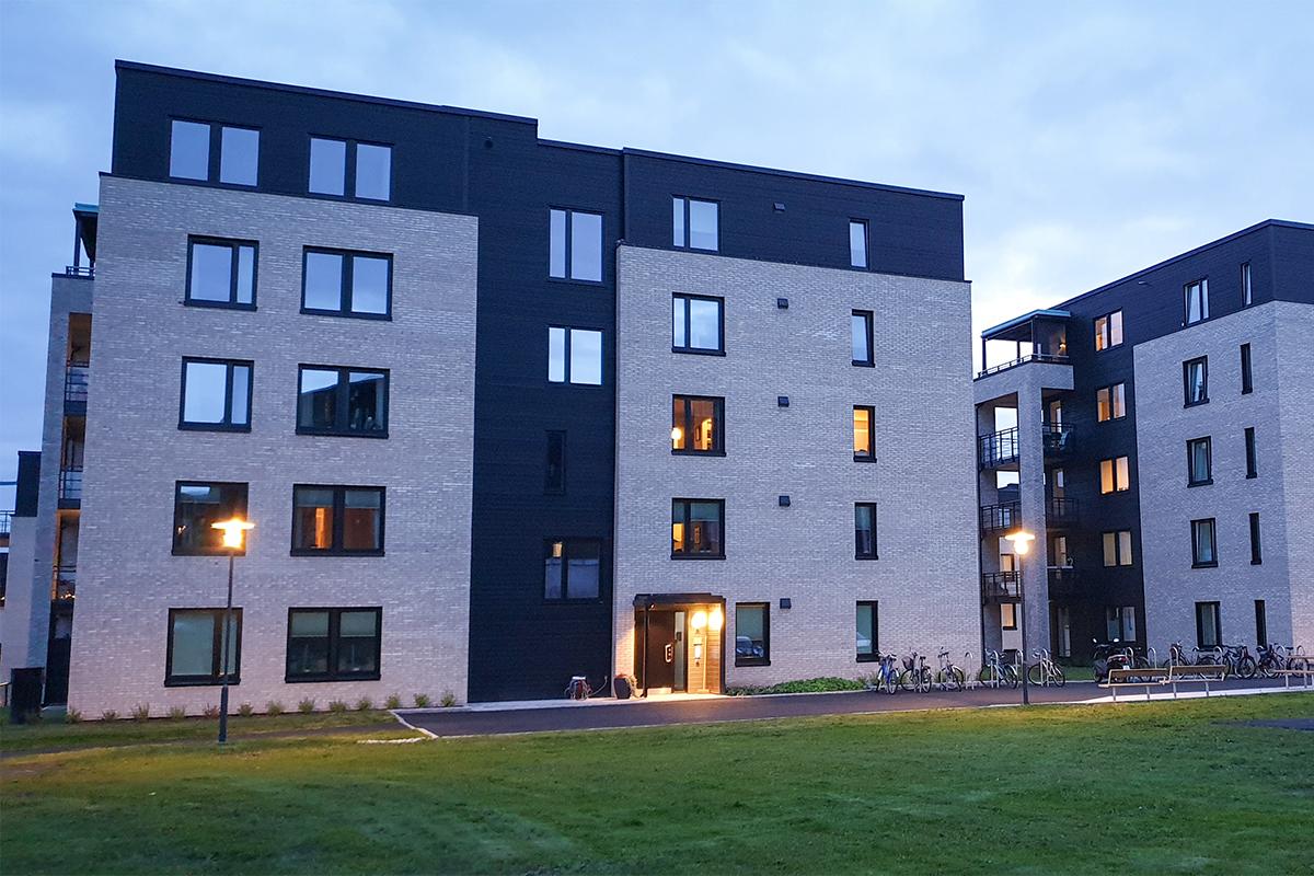 Nye boliger klare for innflytning